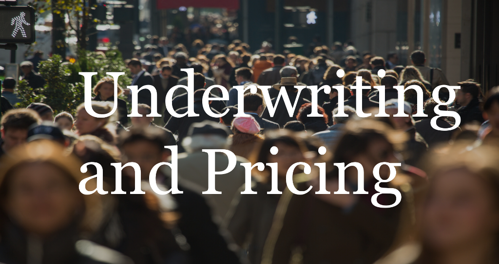 Underwriting and Pricing
